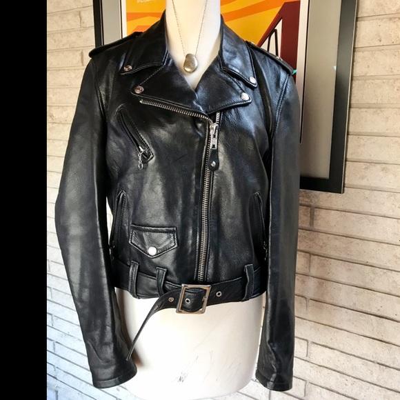 14aa80b1c Gorgeous Schott NYC Perfecto Leather Biker Jacket